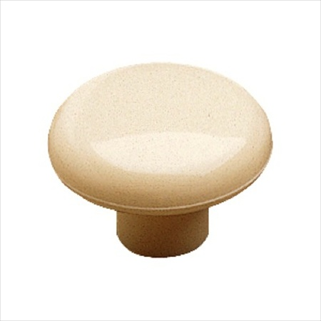 Richelieu Hardware Sp39003 Eclectic Plastic Knob 38MM Ivory Finish