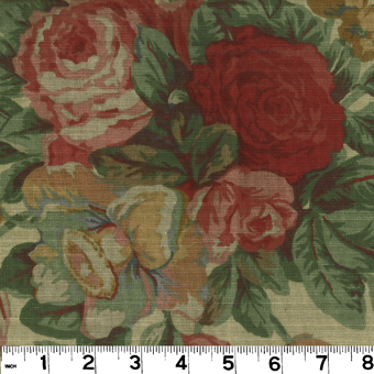 Roth & Tompkins English Garden Tea Fabric