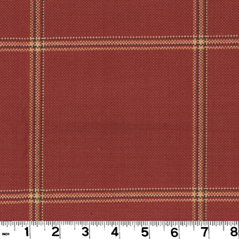 Roth and Tompkins D3069 HEPBURN Fabric in BRICK