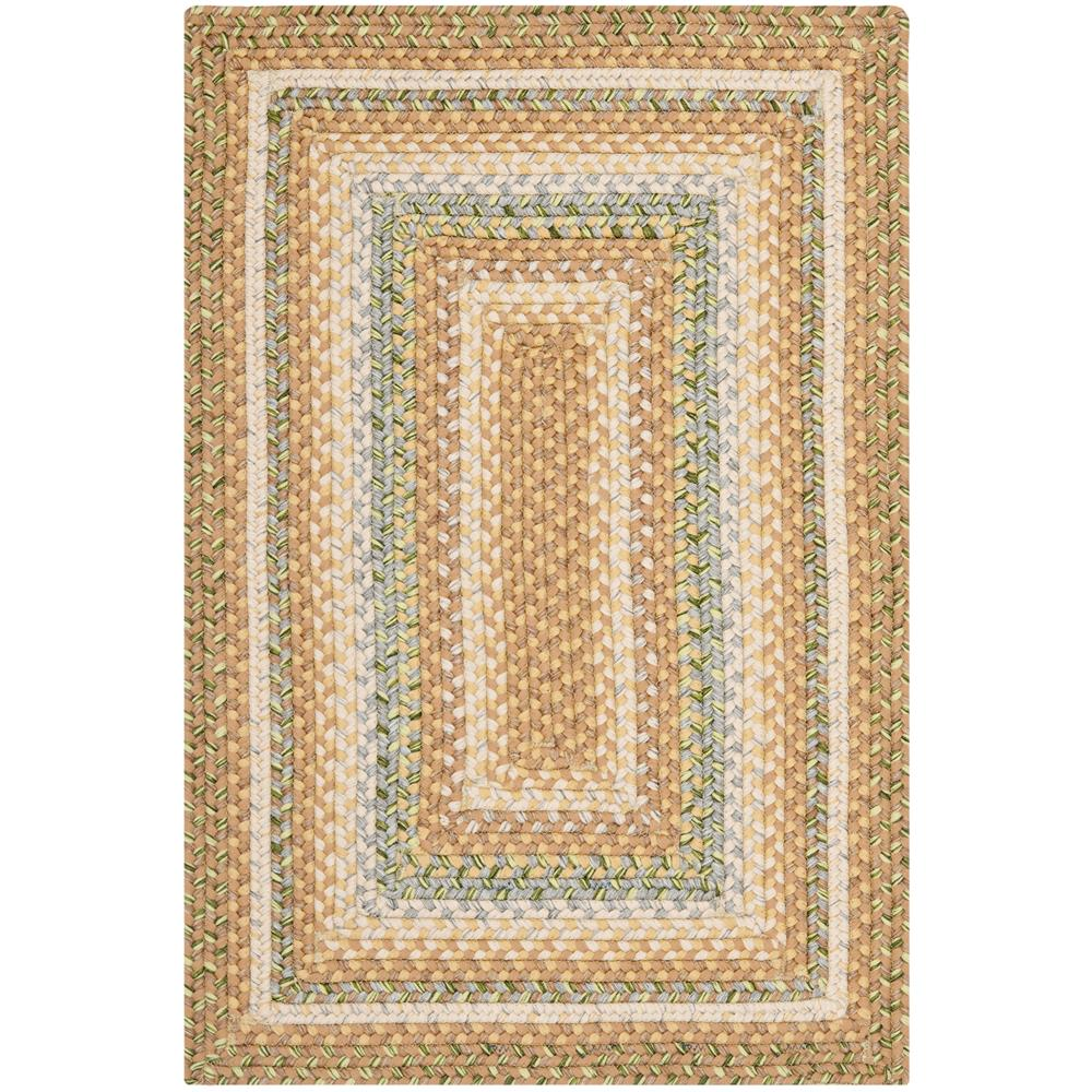 Safavieh BRD314A-24 Braided Area Rug in TAN / MULTI