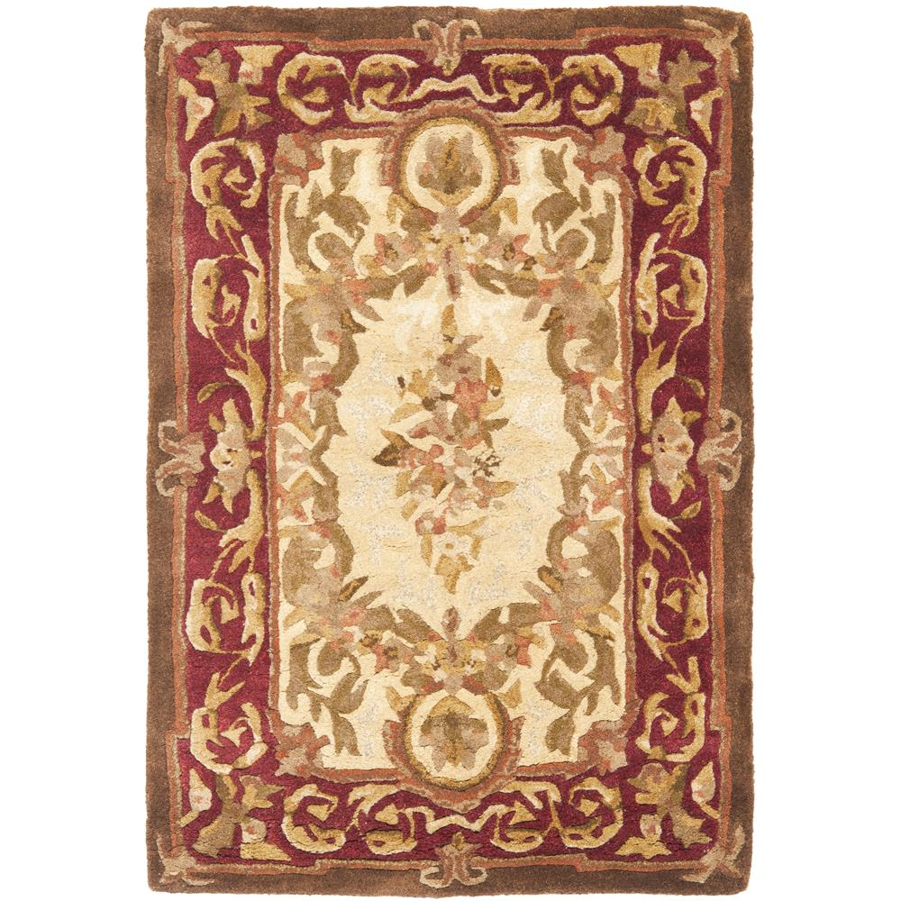 Safavieh EM415A-2  Empire 2 X 3 Ft Hand Tufted / Carved Area Rug