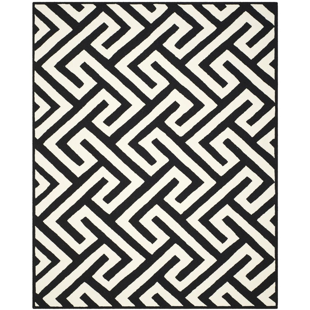 Safavieh FRS241P-4 FOUR SEASONS Indoor/Outdoor in IVORY / BLACK