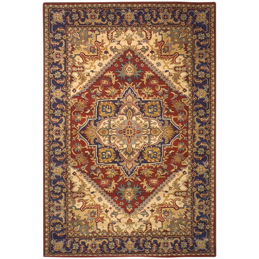 Safavieh HG625A-2 Heritage Area Rug in RED
