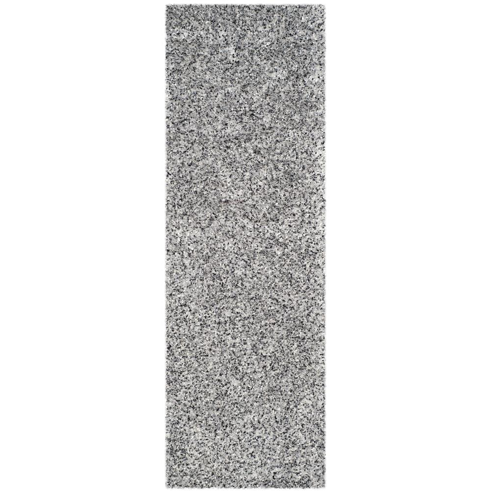 Safavieh MLS431S-27 Malibu Shag Area Rug in SILVER