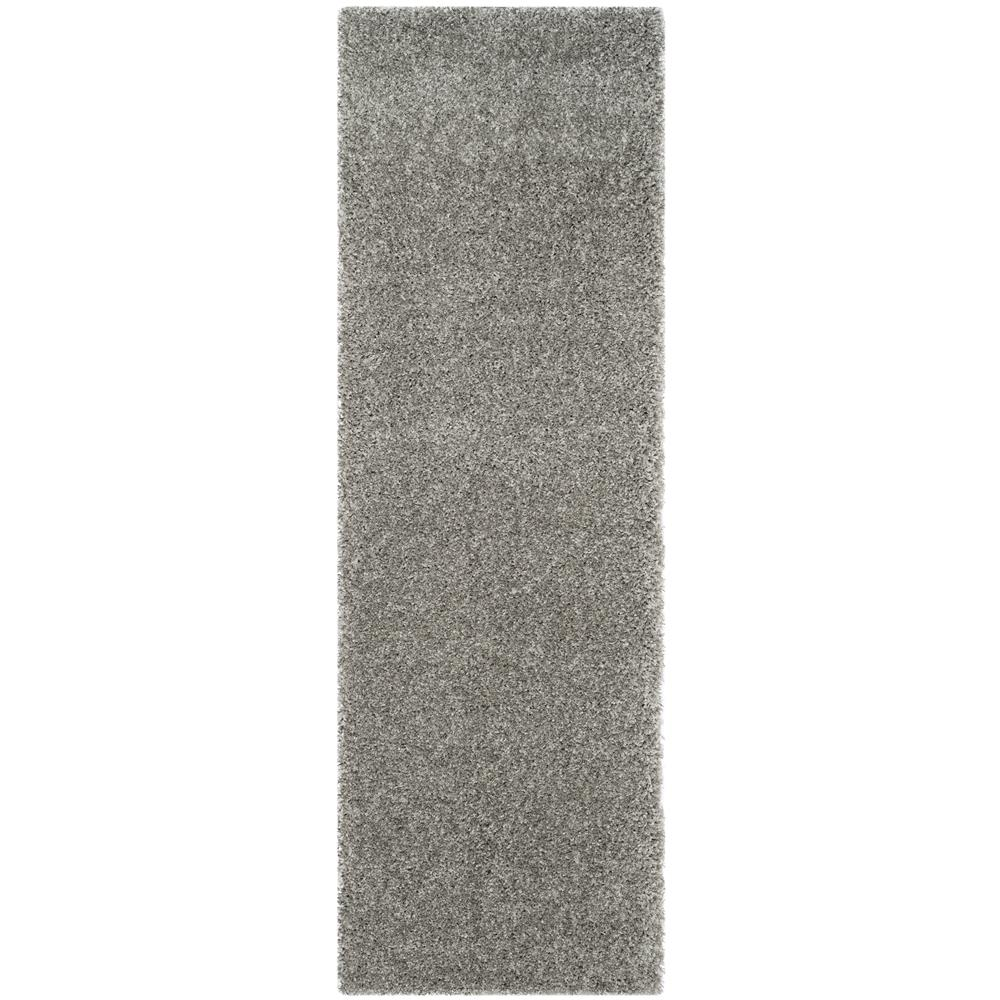 Safavieh SG151-7575-27 California Shag Area Rug in SILVER