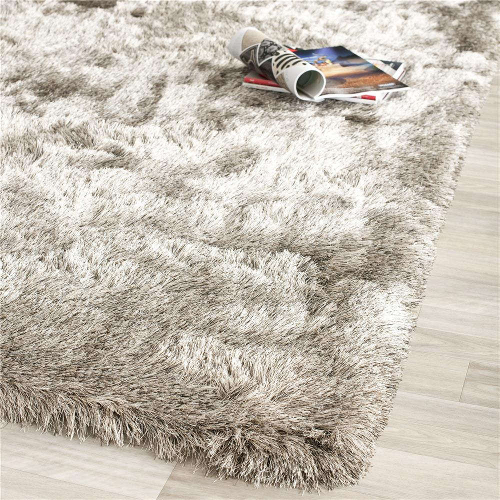 Safavieh SG511-9292-2 Paris Shag Area Rug in SABLE / SABLE