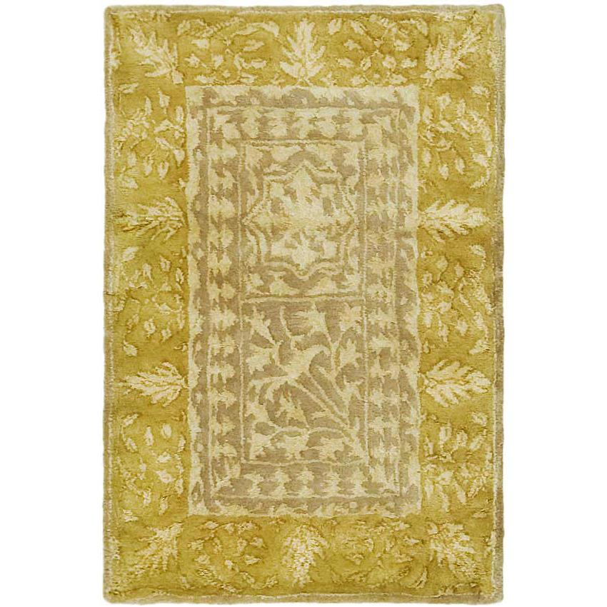 Safavieh SKR214A-2 Silk Road Area Rug in BEIGE / LIGHT GOLD