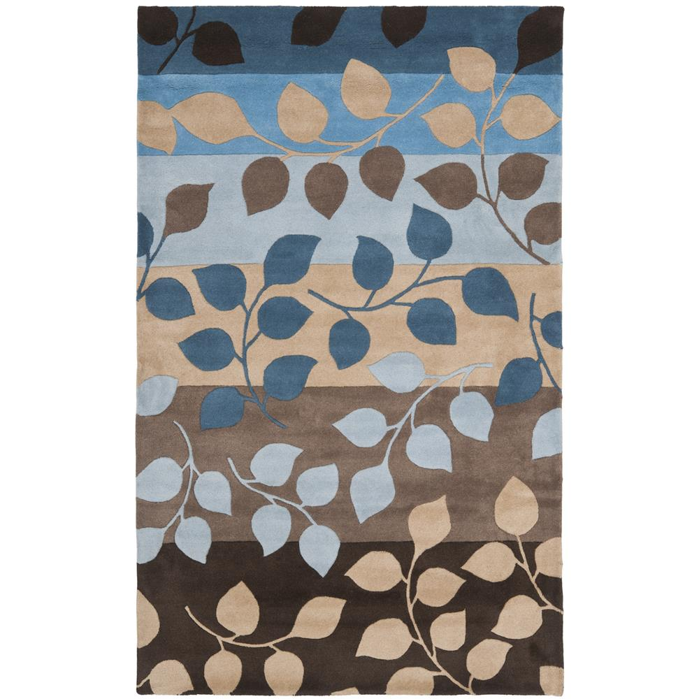 Safavieh SOH785B-4 Soho  Area Rug in BROWN / BLUE