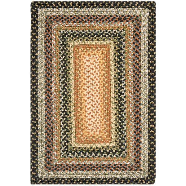 Safavieh BRD308A-24 Braided Area Rug in BLUE / MULTI
