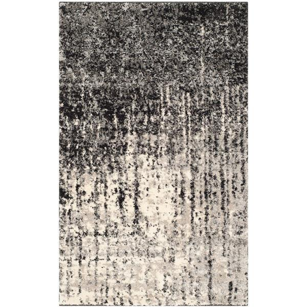 Safavieh RET2770-9079-24 Retro Area Rug in Black / Light Grey