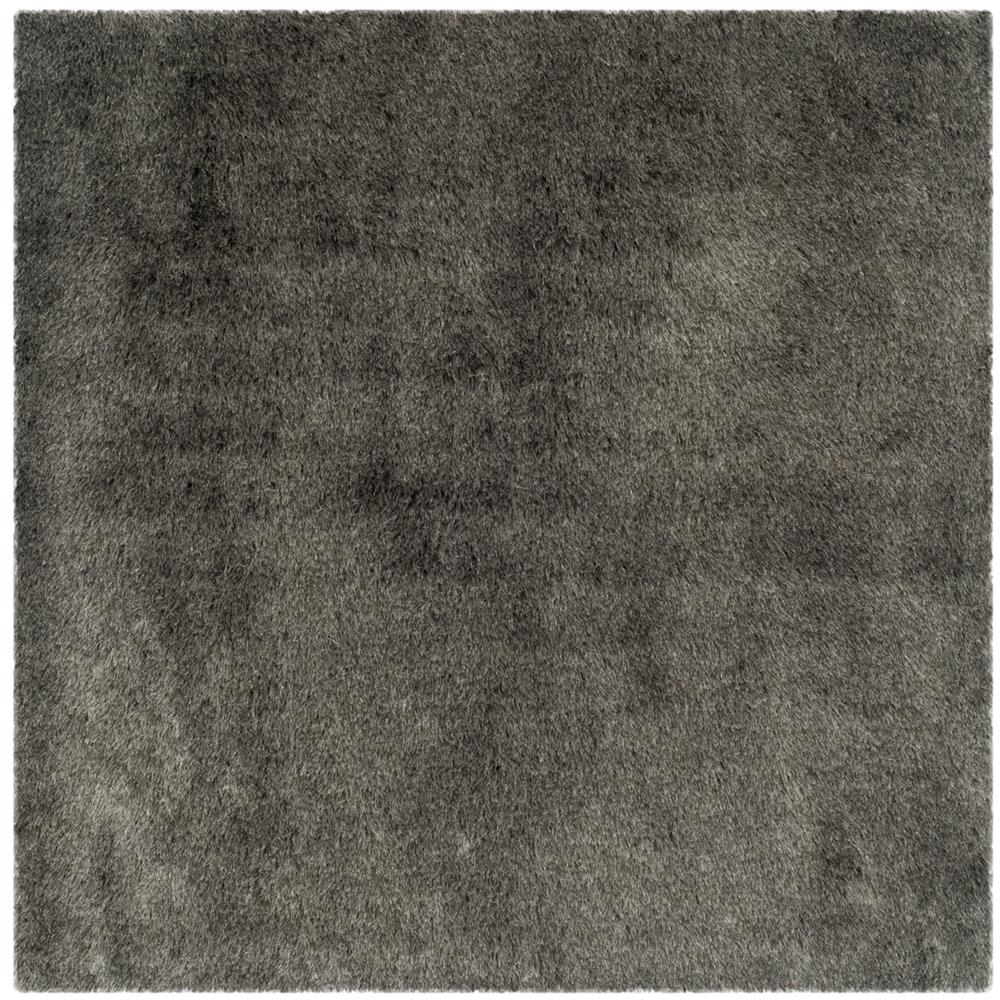 Safavieh SG511-7575-5SQ Shag Area Rug in Silver