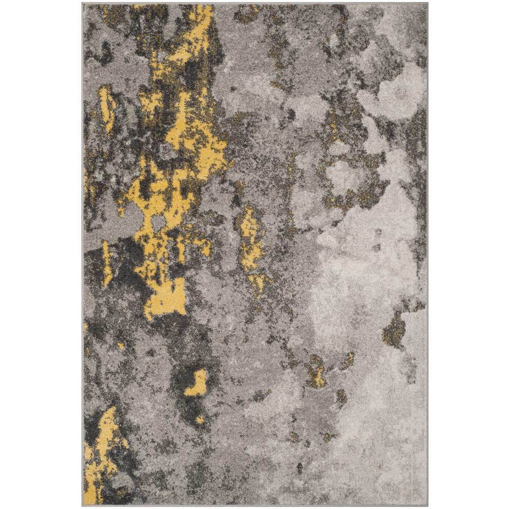Safavieh ADR134H Adirondack Grey / Yellow Area Rug - 6