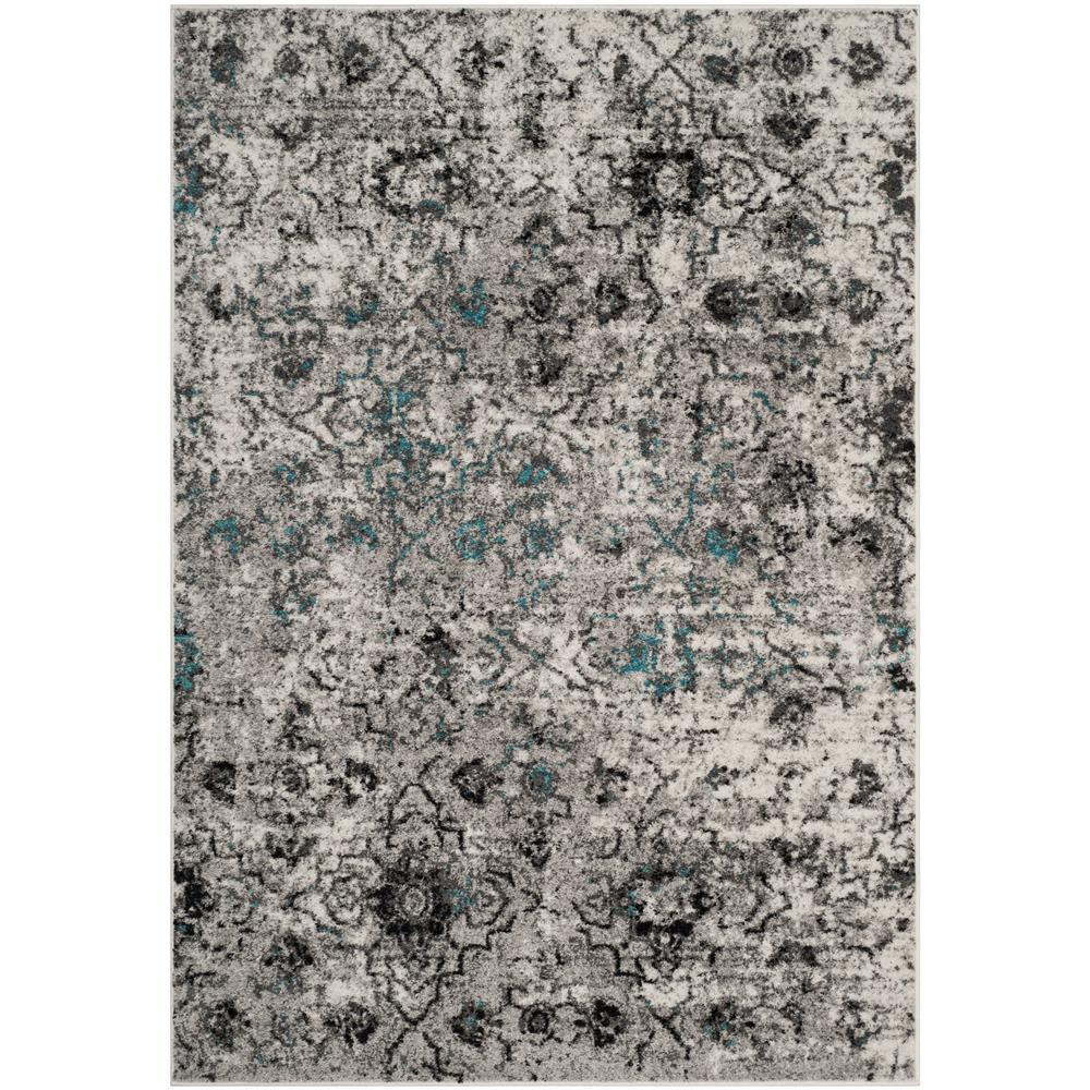 Safavieh ADR135C Adirondack Grey / Black Area Rug - 6