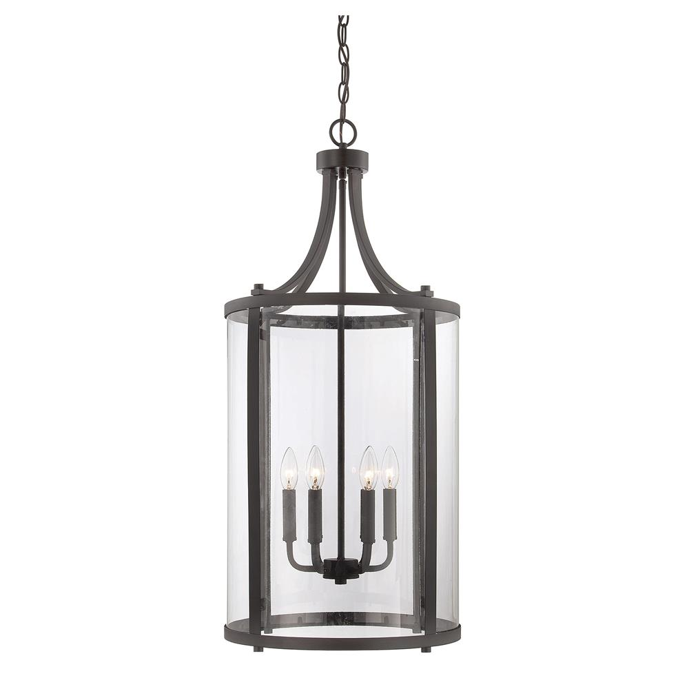 Savoy House 7-1041-6-13 Penrose 6 Light Medium Foyer Lantern in English Bronze