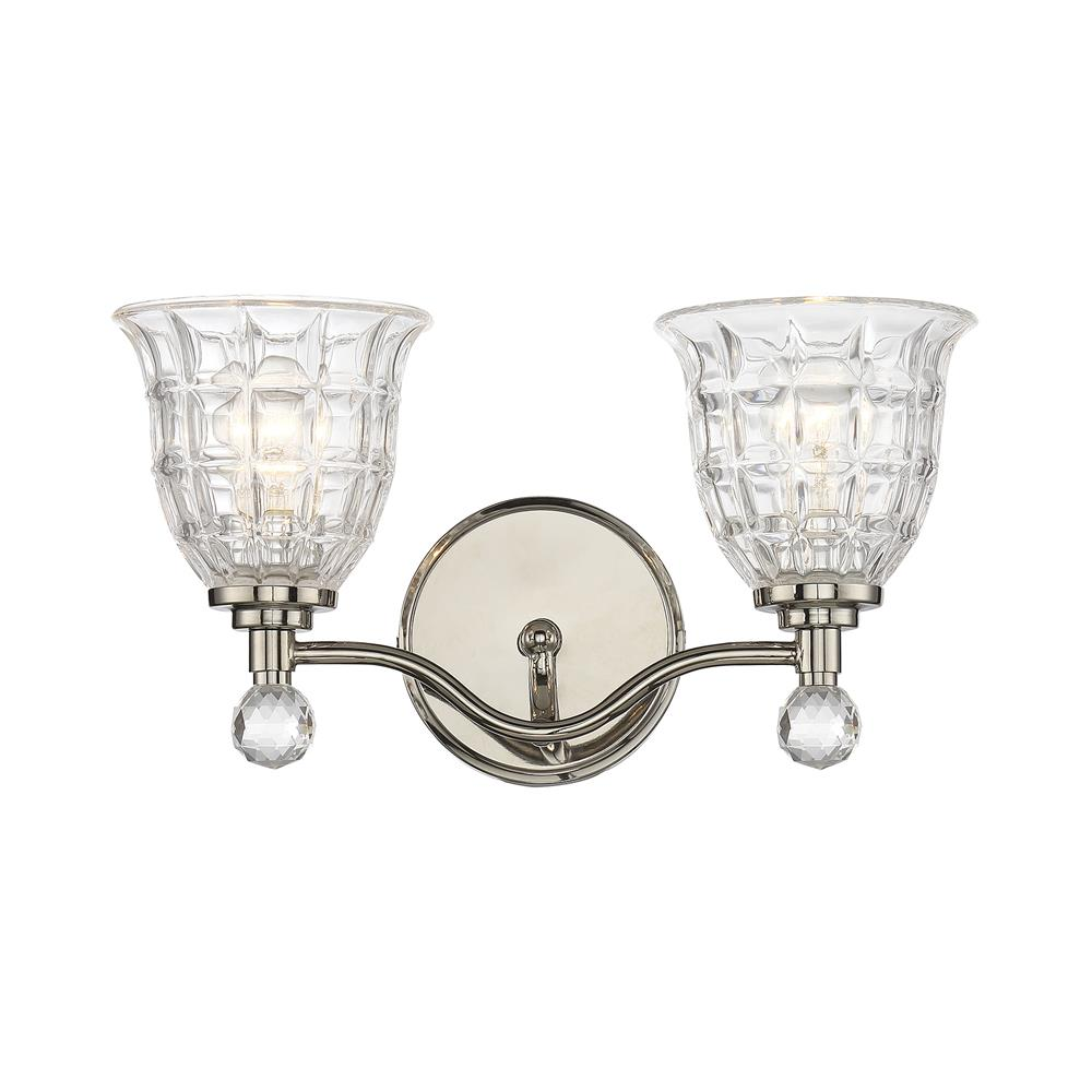 Savoy House 8-880-2-109 Birone 2 Light Bath Bar