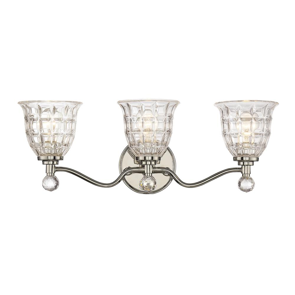 Savoy House 8-880-3-109 Birone 3 Light Bath Bar