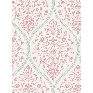 Seabrook CB91801 C ROBINSON-CARL ROBINSON 9 ROMANTIQUE Illingworth Wallpaper in Reds