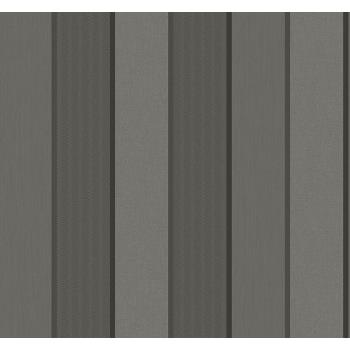 Seabrook ML14401 COLLINS & CO.-MODENA Striped Wallpaper in Gray