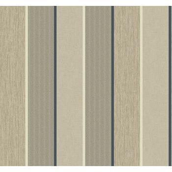 Seabrook ML14407 COLLINS & CO.-MODENA Striped Wallpaper in Blue/ Neutrals
