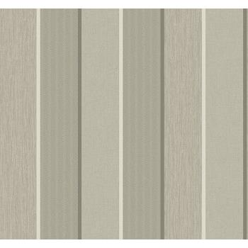 Seabrook ML14408 COLLINS & CO.-MODENA Striped Wallpaper in Brown/ Neutrals