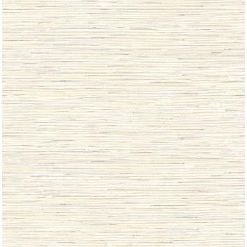 Seabrook MT80903 SEABROOK DESIGNS-MONTAGE SILVERTON GRASS Wallpaper in Metallic Gold/ Neutrals/ Off White