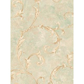 Seabrook Designs SA50304 SALINA Wallpaper in Brown