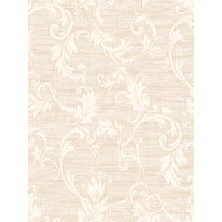 Seabrook Designs SA50501 SALINA Wallpaper in White