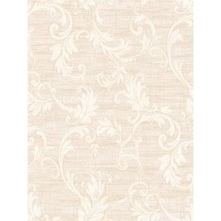 Seabrook Designs SA50509 SALINA Wallpaper in White