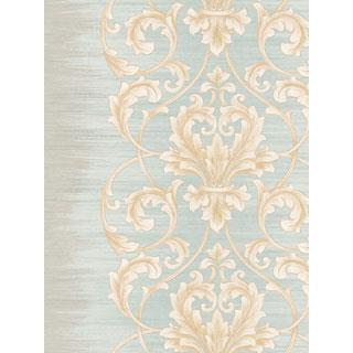 Seabrook Designs SA50802 SALINA Wallpaper in White