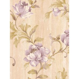Seabrook Designs SA50909 SALINA Wallpaper in Purple