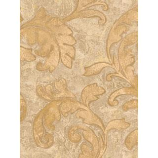 Seabrook Designs SA51006 SALINA Wallpaper in Neutral