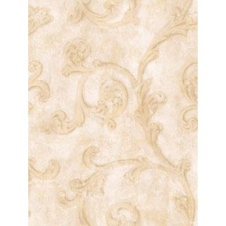 Seabrook Designs SA51106 SALINA Wallpaper in Neutral