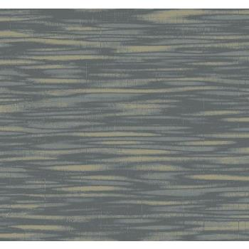 Seabrook Wallpaper TE10220 Collins & Company Wallpaper in Gray / Metallic Gold