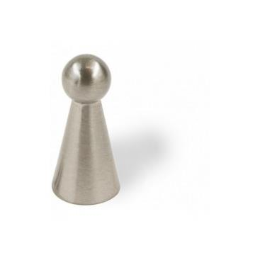 Siro Designs Etc-020 2205-11mm Knob Zn21 In Fine Brushed Nickel