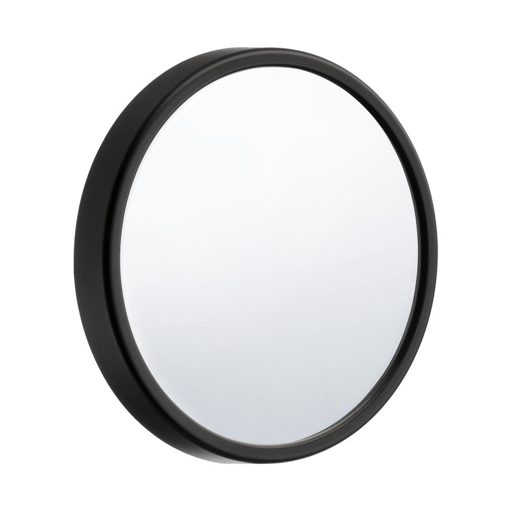 "Smedbo FB621 OUTLINE 3.5"" BLACK 12X MAGNIFICATION MIRROR"