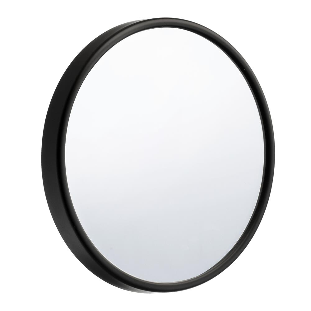 "Smedbo FB622 OUTLINE 5"" BLACK12X MAGNIFICATION MIRROR"