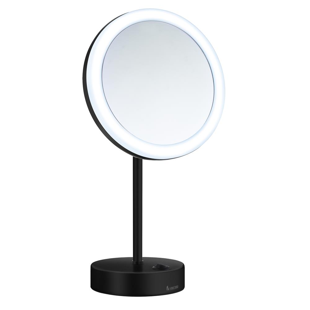 Smedbo FK484EBP LED battery operated  Make-up mirror