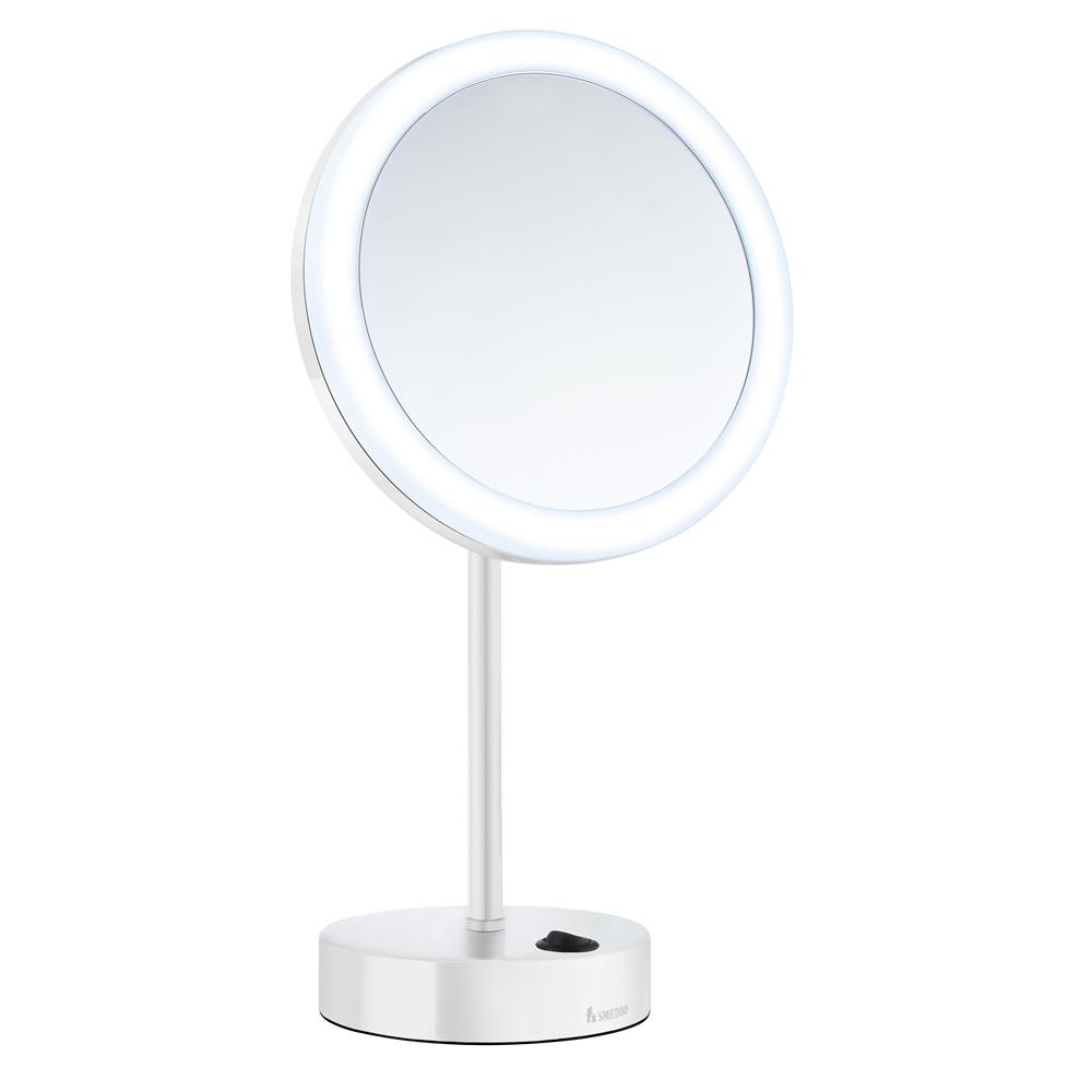 Smedbo FK484EWP LED battery operated  Make-up mirror
