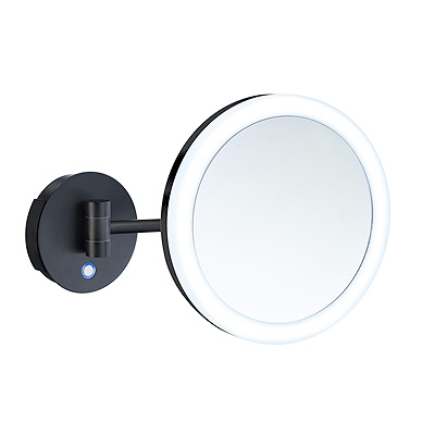 Smedbo FK485EBP OUTLINE SHAVING/MAKE-UP MIRROR WITH LED TECHNOLOGY, DUAL LIGHT