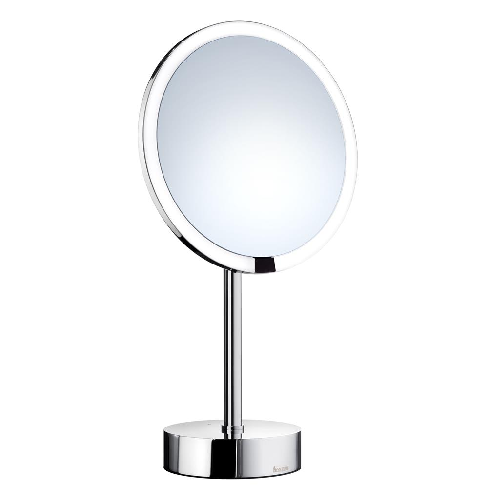 Smedbo FK488EP OUTLINE SHAVING/MAKE-UP MIRROR WITH LED TECHNOLOGY