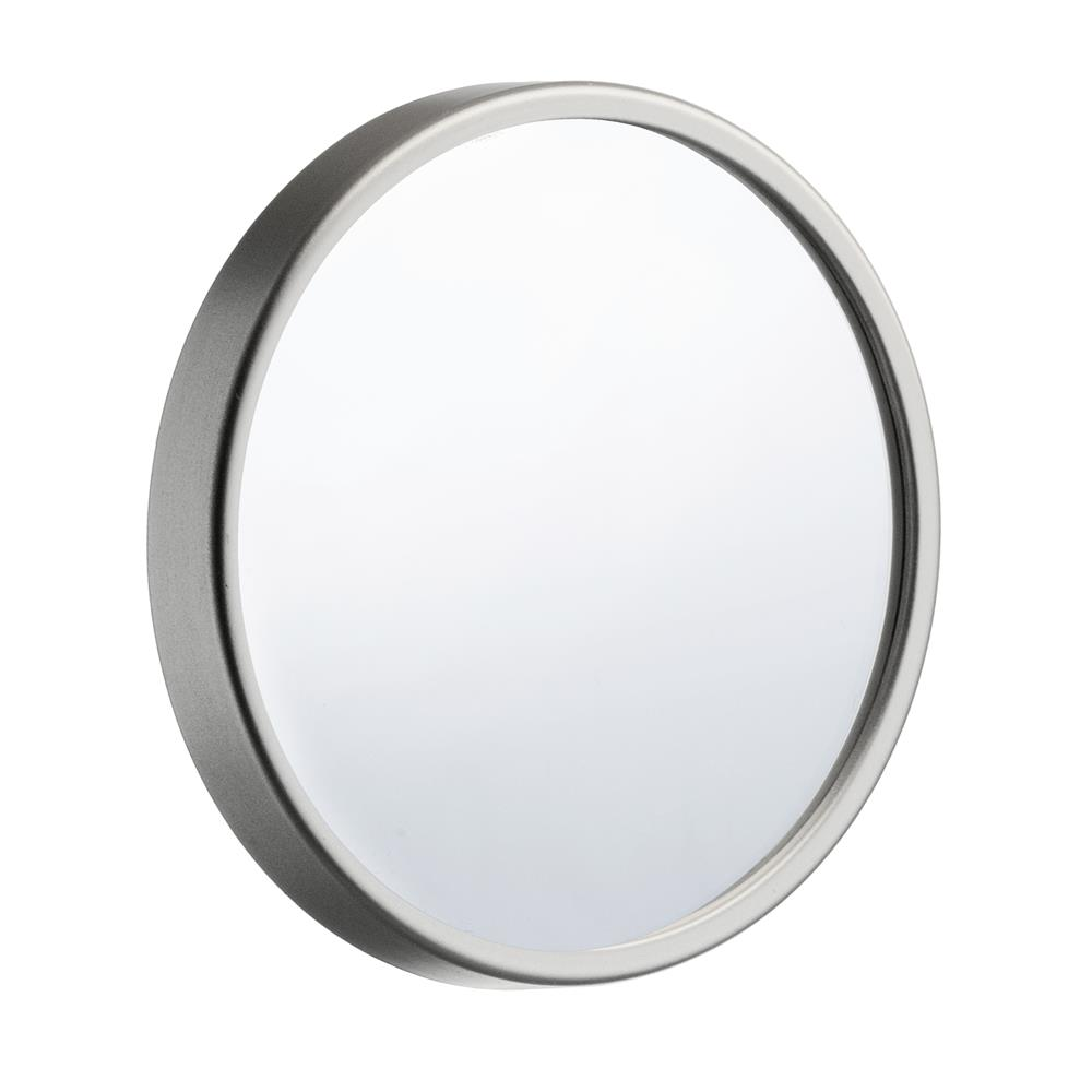 "Smedbo FS621 OUTLINE 3.5"" BRUSHED CHROME12X MAGNIFICATION MIRROR"