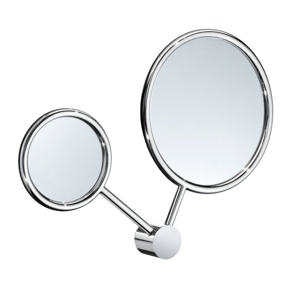 Smedbo WK351 Art Double Make-Up Mirror -Regular & 7 X
