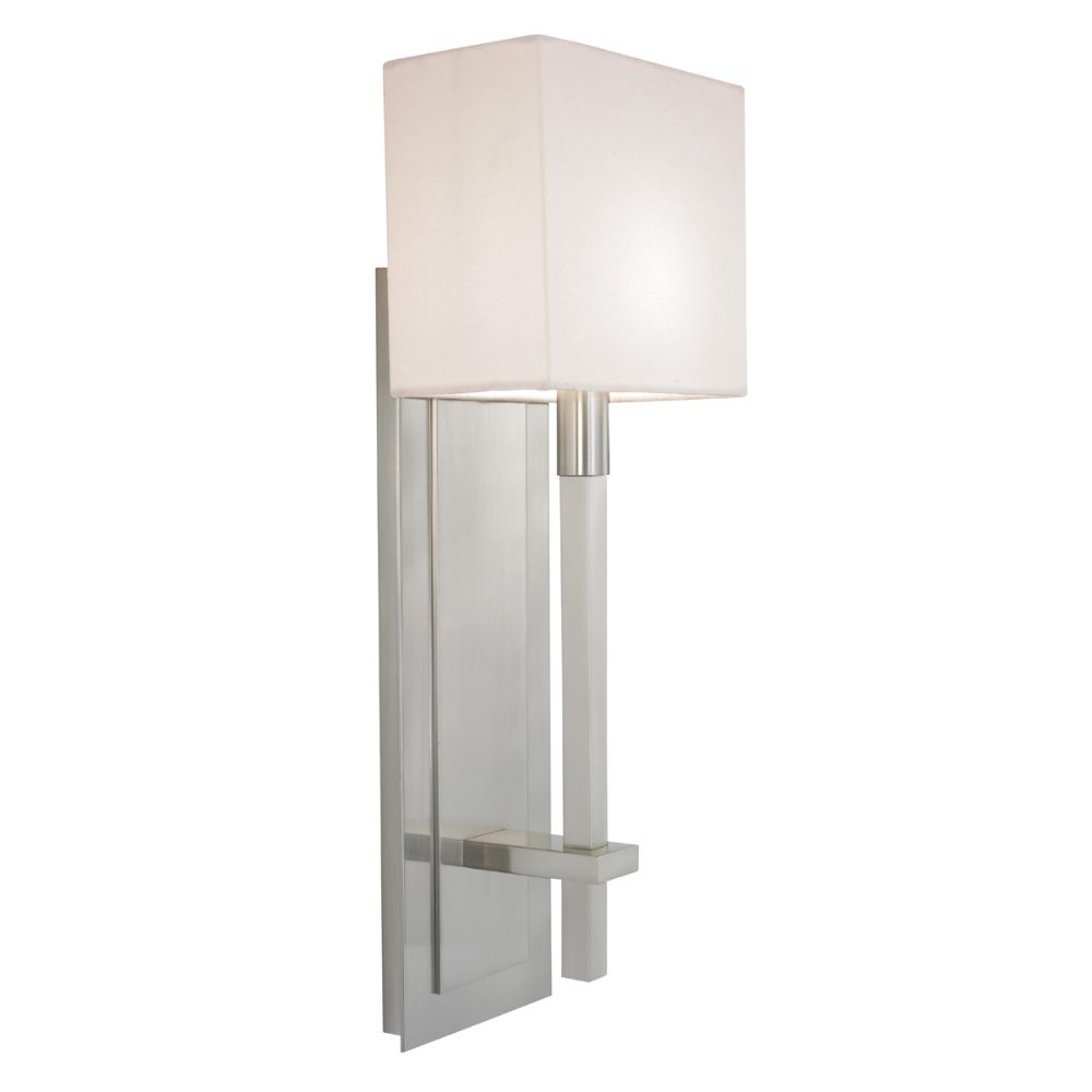 Sonneman 4436.13 Montana Tall Sconce in Satin Nickel