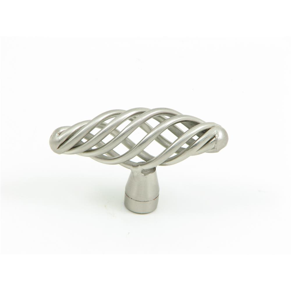 Stone Mill Hardware CP3855-SN The Berkshire Birdcage Cabinet Knob in Satin Nickel