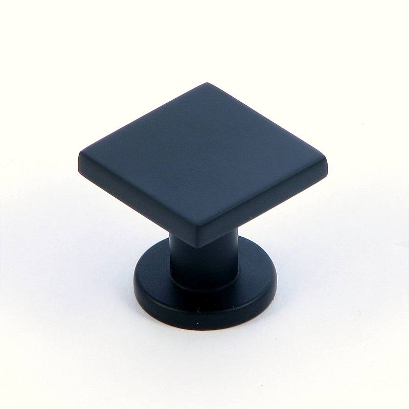 Stone Mill Hardware CP4416-MB The Matte Black SoHo Cabinet Knob in Matte Black