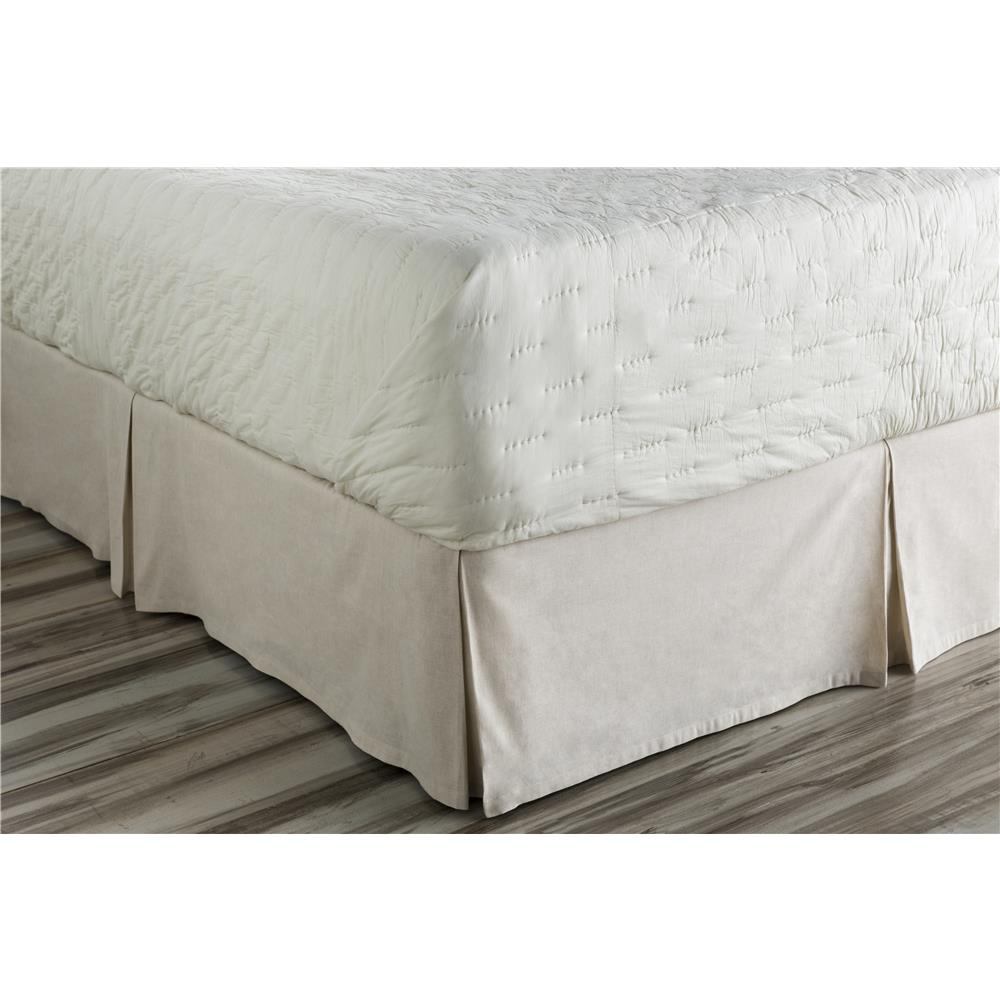 Surya CAL5005-CSKT Clara CA King Bed Skirt