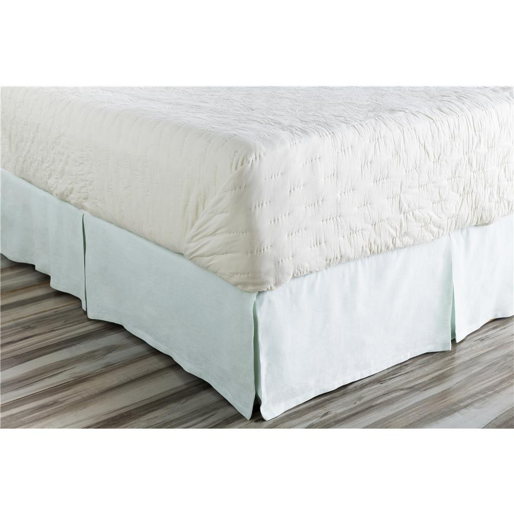 Surya EVY3000-TSKT Evelyn Twin Bed Skirt