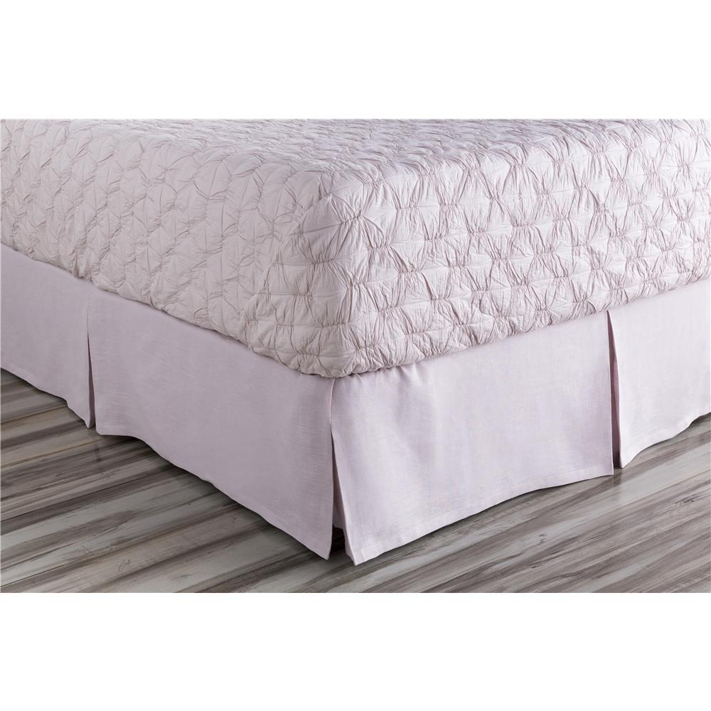 Surya EVY3002-TSKT Evelyn Twin Bed Skirt