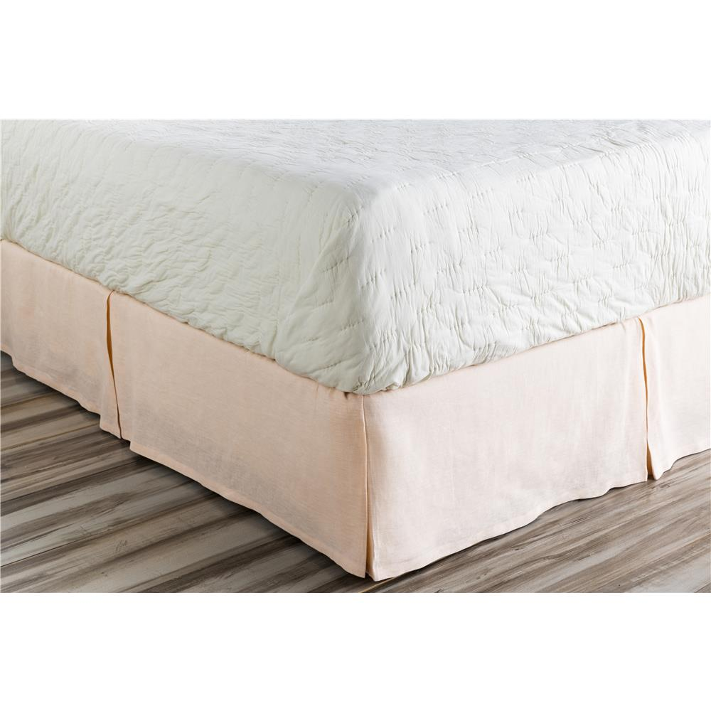 Surya EVY3004-TSKT Evelyn Twin Bed Skirt