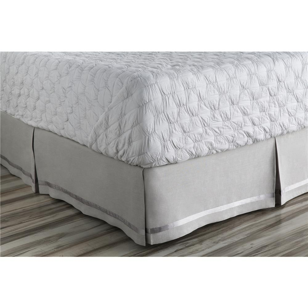 Surya VER6005-CSKT Versaille CA King Bed Skirt